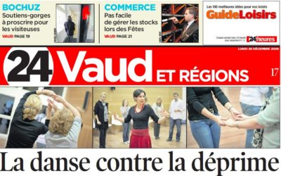 "24 Heures Vaud and region. ""La danse contre la déprime"""