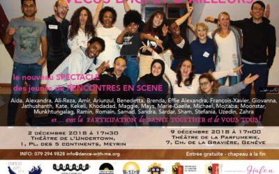 Vécus d'ici et d'ailleurs – Le nouveau spectacle des jeunes de Rencontres en scène