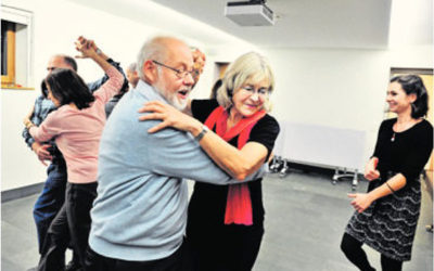 "Article on the Tribune de Genève : ""Dance is a vector of integration""."